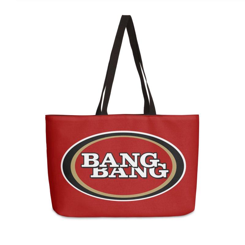 Niner Gang Accessories Weekender Bag Bag by Mike Hampton's T-Shirt Shop
