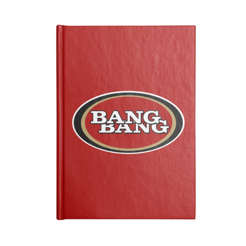Niner Gang Accessories Blank Journal Notebook by Mike Hampton's T-Shirt Shop