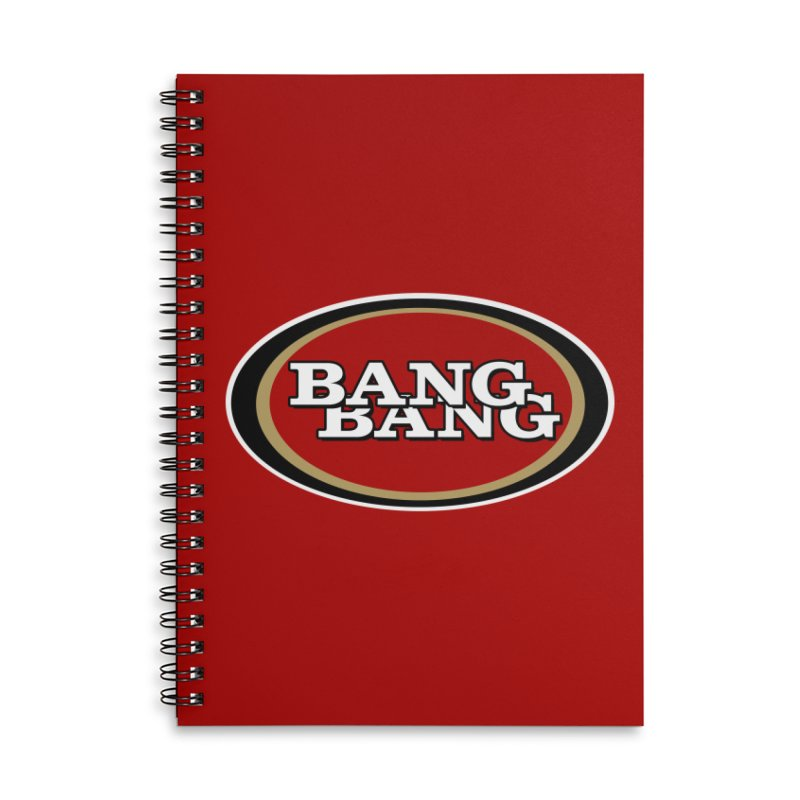 Niner Gang Accessories Lined Spiral Notebook by Mike Hampton's T-Shirt Shop