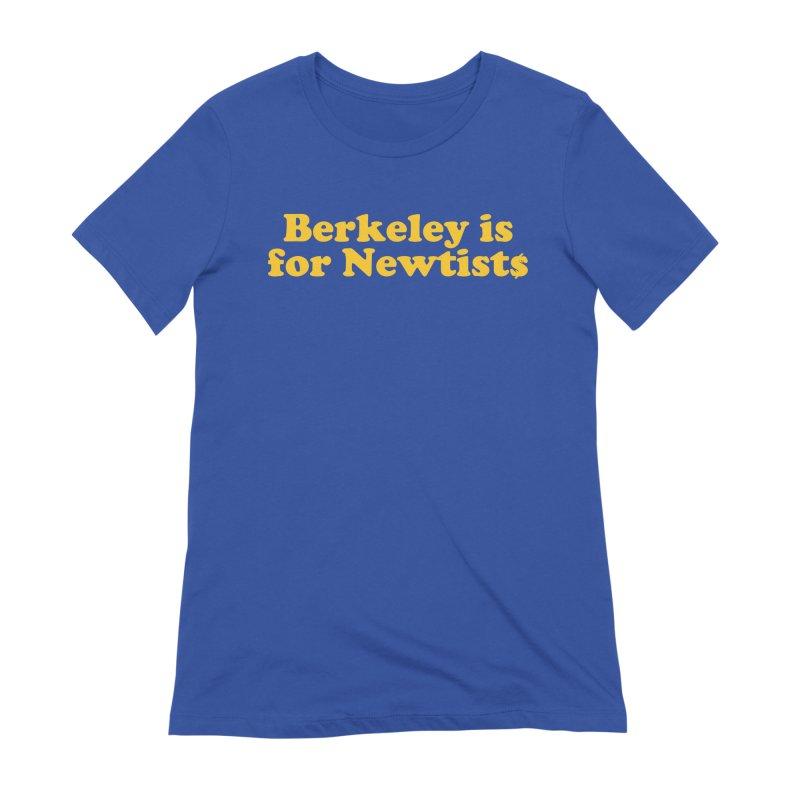 Watch for Newts Women's Extra Soft T-Shirt by Mike Hampton's T-Shirt Shop