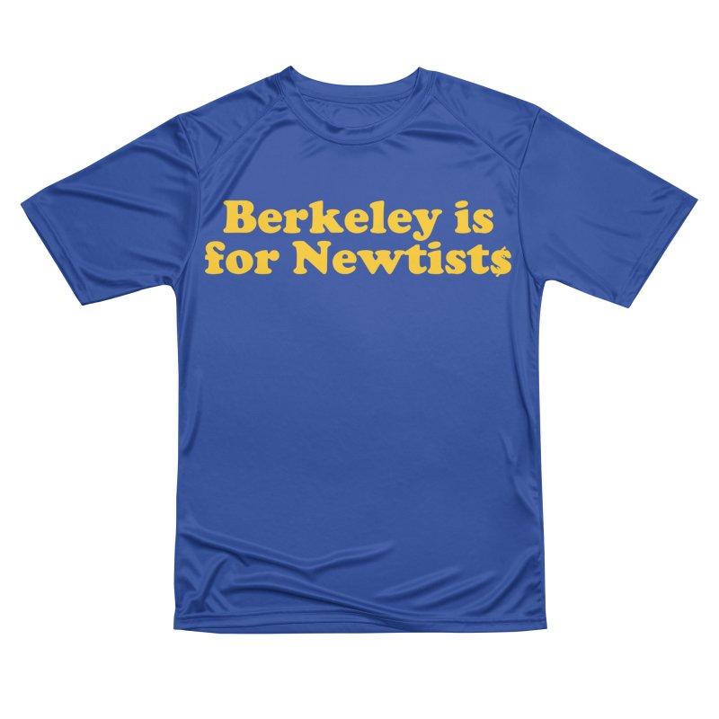 Watch for Newts Men's Performance T-Shirt by Mike Hampton's T-Shirt Shop