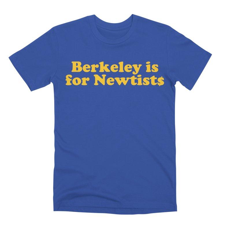 Watch for Newts Men's Premium T-Shirt by Mike Hampton's T-Shirt Shop