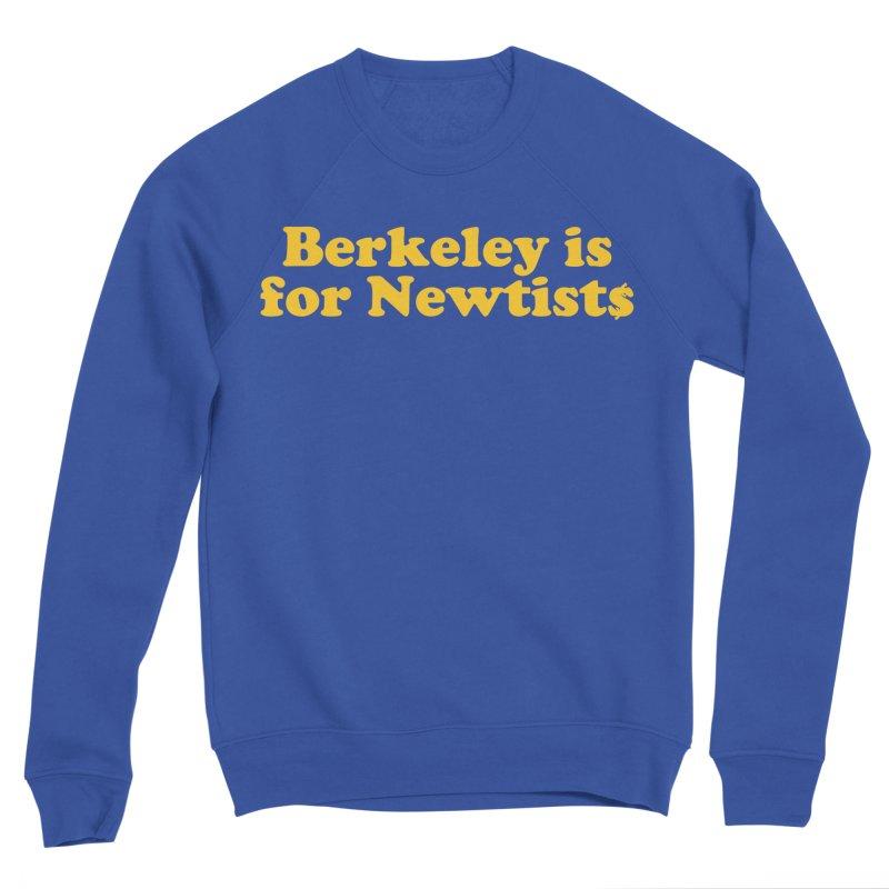 Watch for Newts Men's Sponge Fleece Sweatshirt by Mike Hampton's T-Shirt Shop