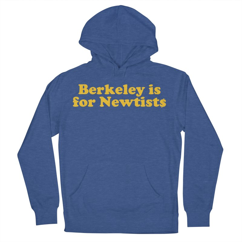 Watch for Newts Men's French Terry Pullover Hoody by Mike Hampton's T-Shirt Shop