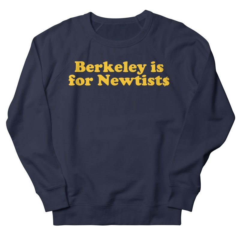 Watch for Newts Men's French Terry Sweatshirt by Mike Hampton's T-Shirt Shop