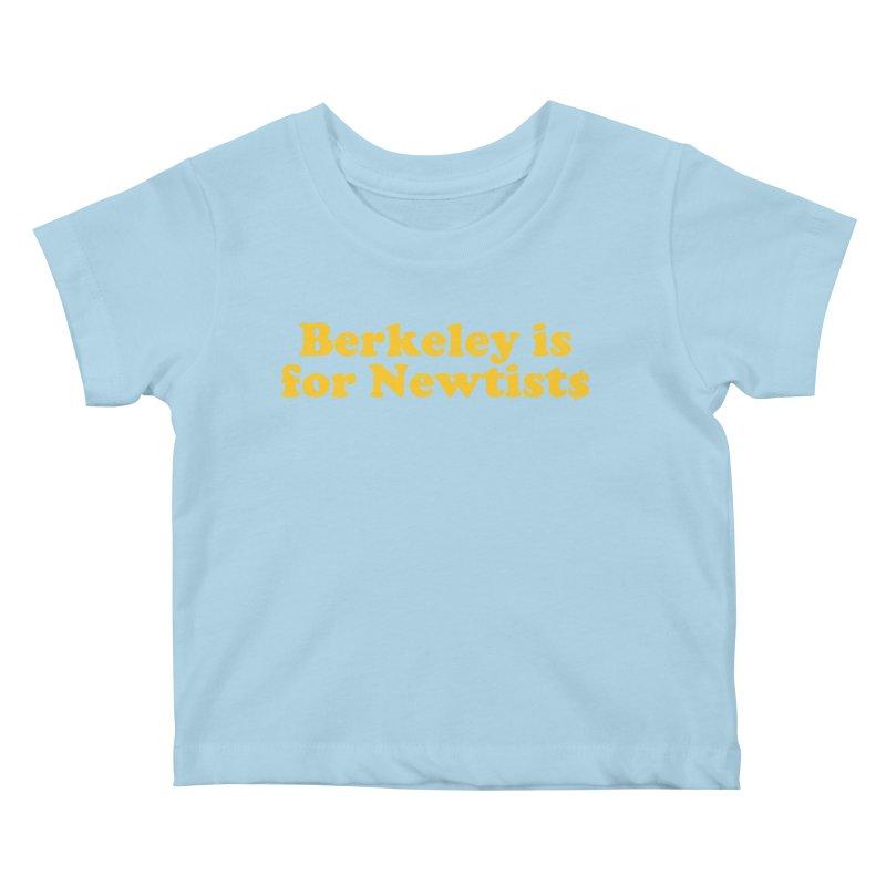 Watch for Newts Kids Baby T-Shirt by Mike Hampton's T-Shirt Shop