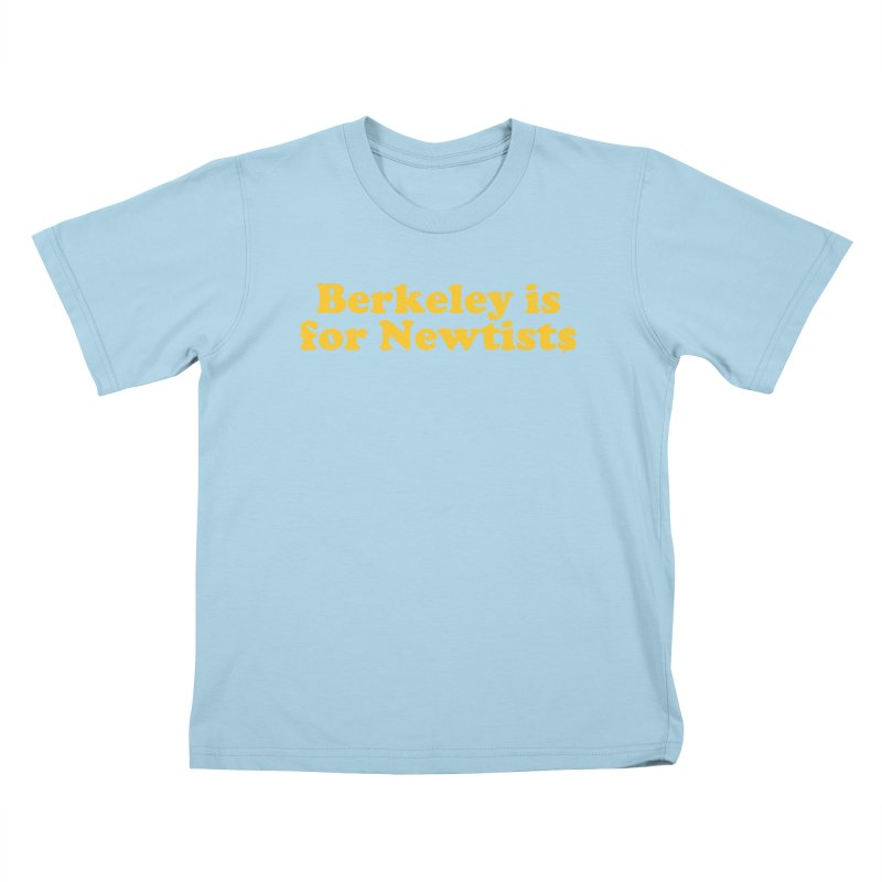 Watch for Newts Kids T-Shirt by Mike Hampton's T-Shirt Shop