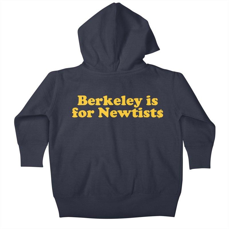 Watch for Newts Kids Baby Zip-Up Hoody by Mike Hampton's T-Shirt Shop