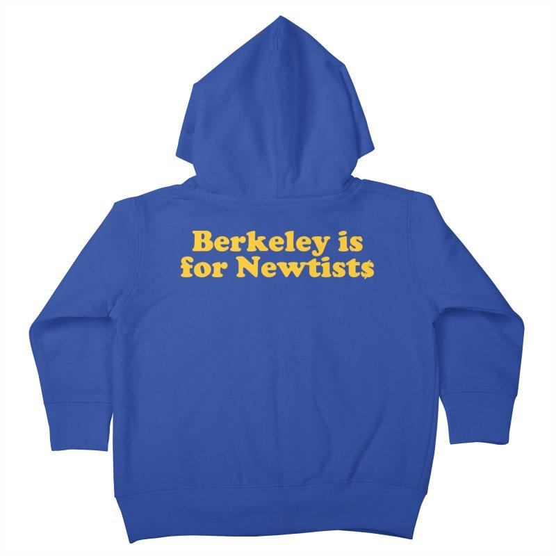 Watch for Newts Kids Toddler Zip-Up Hoody by Mike Hampton's T-Shirt Shop