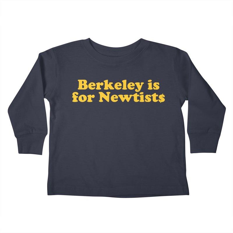 Watch for Newts Kids Toddler Longsleeve T-Shirt by Mike Hampton's T-Shirt Shop