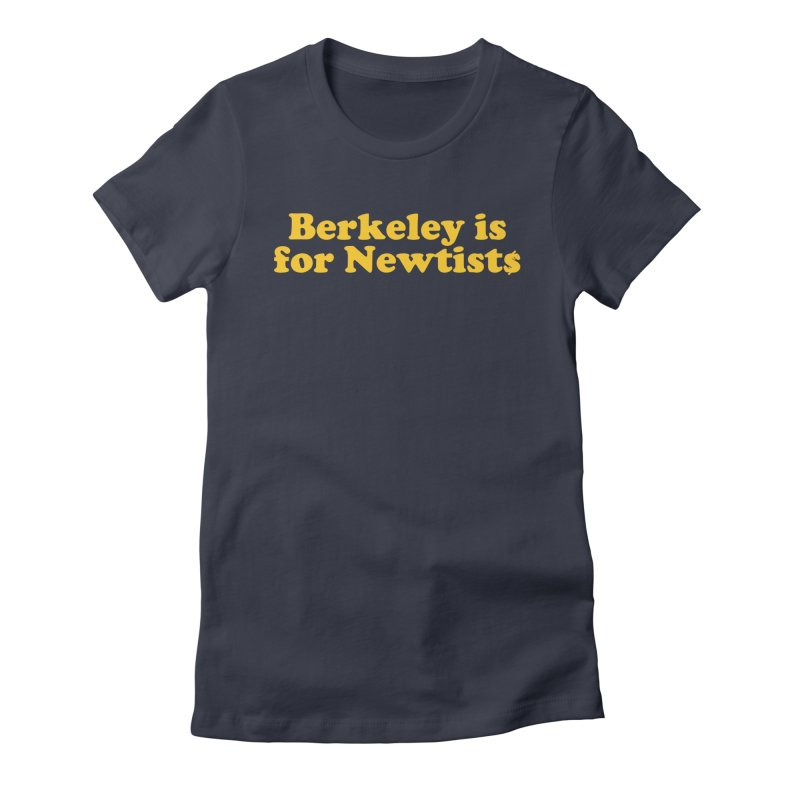 Watch for Newts Women's Fitted T-Shirt by Mike Hampton's T-Shirt Shop