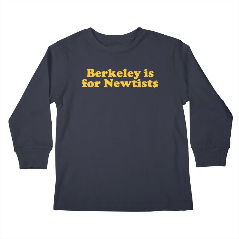 Watch for Newts Kids Longsleeve T-Shirt by Mike Hampton's T-Shirt Shop