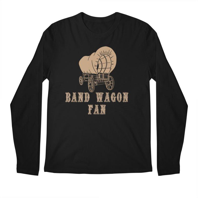 Band Wagon Fan Men's Regular Longsleeve T-Shirt by Mike Hampton's T-Shirt Shop