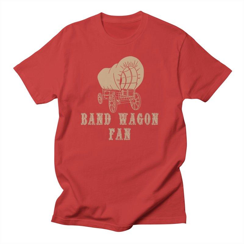Band Wagon Fan Men's Regular T-Shirt by Mike Hampton's T-Shirt Shop