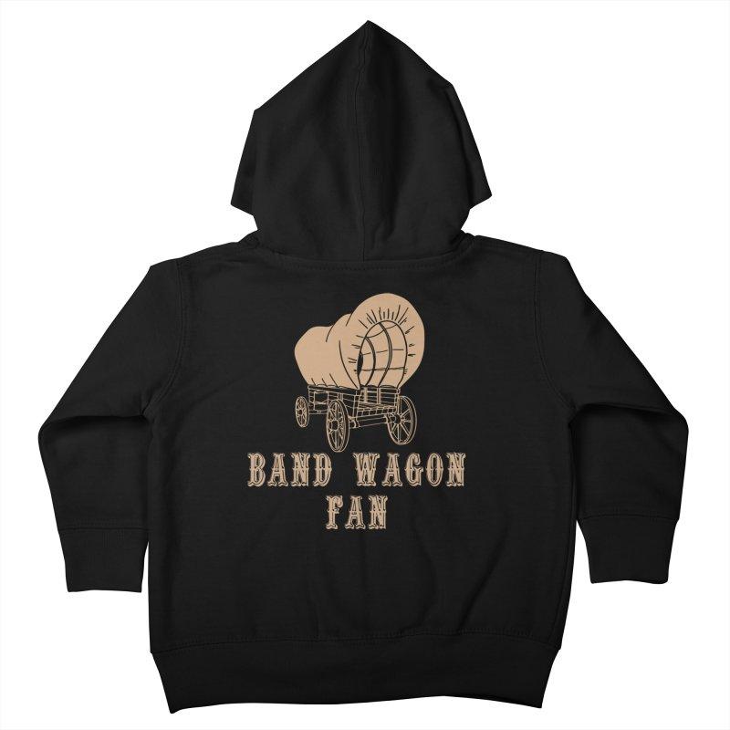 Band Wagon Fan Kids Toddler Zip-Up Hoody by Mike Hampton's T-Shirt Shop