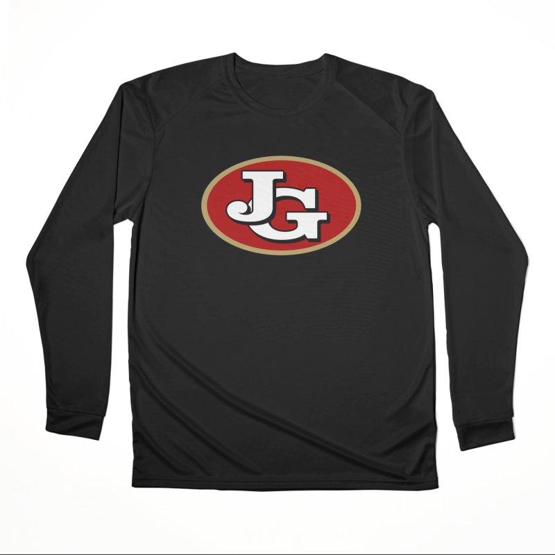 Jimmy G Men's Performance Longsleeve T-Shirt by Mike Hampton's T-Shirt Shop