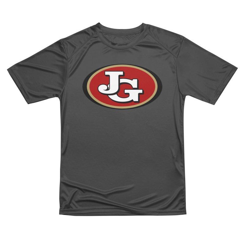 Jimmy G Men's Performance T-Shirt by Mike Hampton's T-Shirt Shop