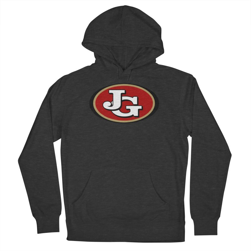 Jimmy G Women's French Terry Pullover Hoody by Mike Hampton's T-Shirt Shop