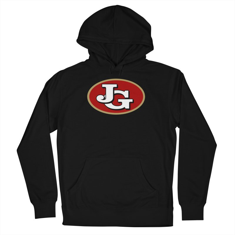 Jimmy G Men's French Terry Pullover Hoody by Mike Hampton's T-Shirt Shop