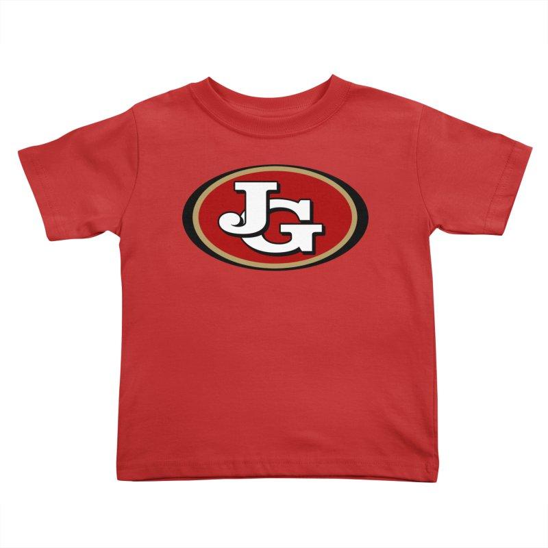 Jimmy G Kids Toddler T-Shirt by Mike Hampton's T-Shirt Shop