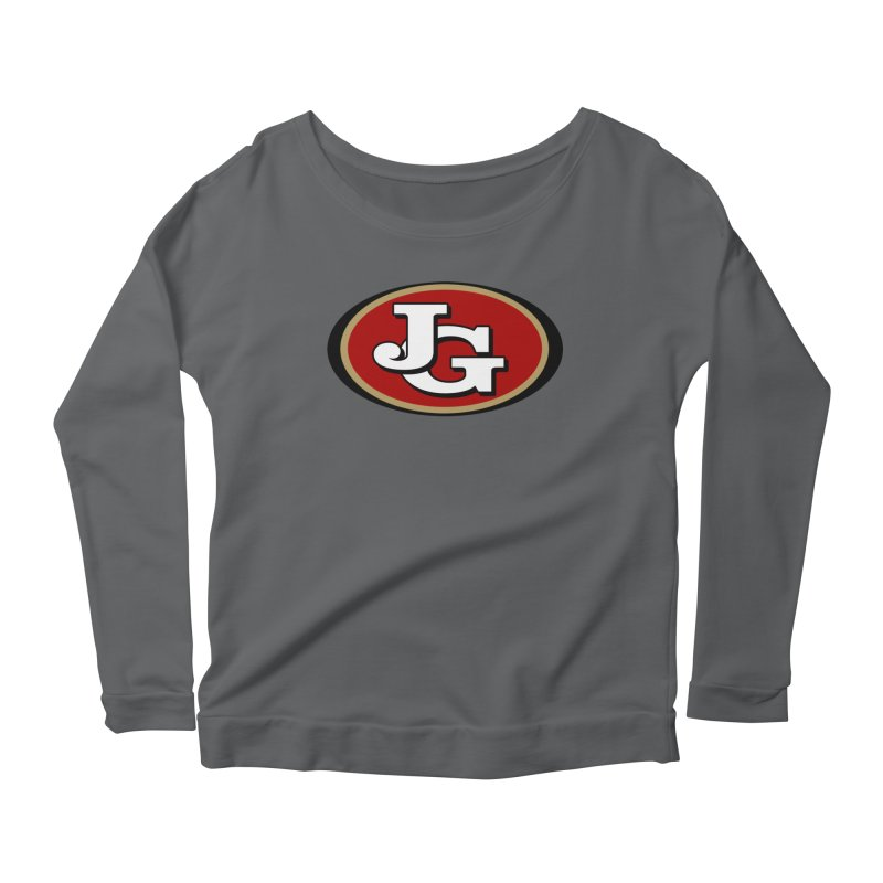 Jimmy G Women's Scoop Neck Longsleeve T-Shirt by Mike Hampton's T-Shirt Shop