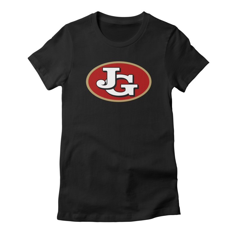 Jimmy G Women's Fitted T-Shirt by Mike Hampton's T-Shirt Shop