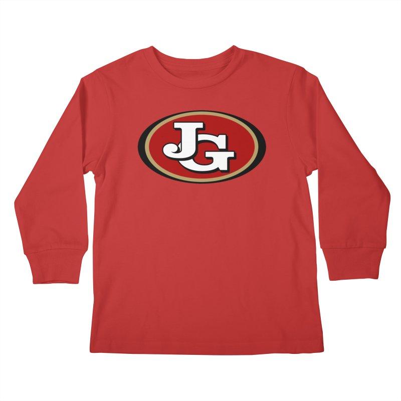 Jimmy G Kids Longsleeve T-Shirt by Mike Hampton's T-Shirt Shop