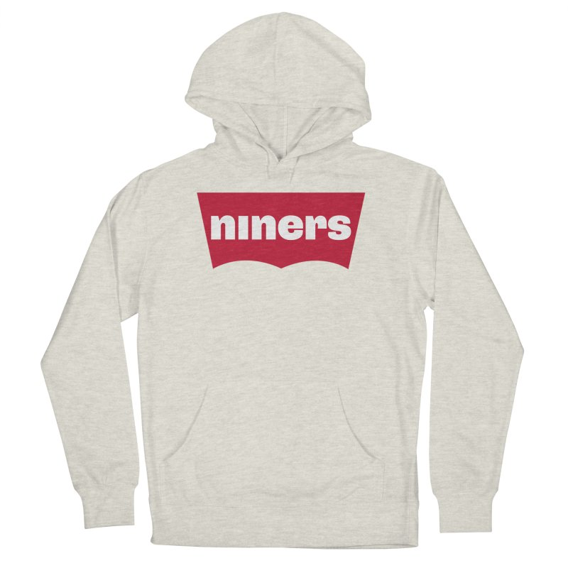 Niners Women's French Terry Pullover Hoody by Mike Hampton's T-Shirt Shop