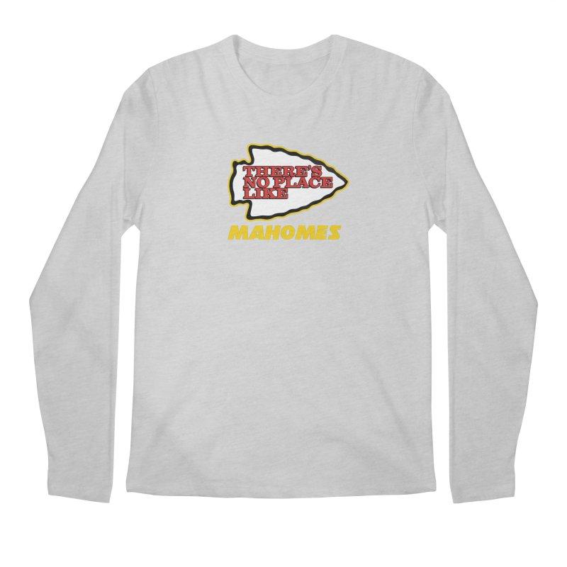 No Place Like Mahomes Men's Regular Longsleeve T-Shirt by Mike Hampton's T-Shirt Shop