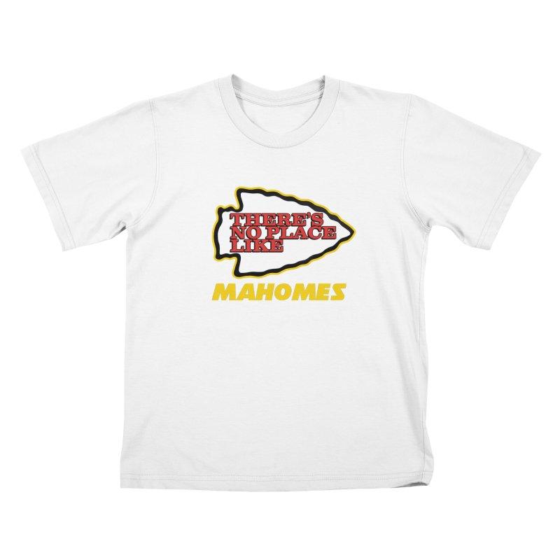 No Place Like Mahomes Kids T-Shirt by Mike Hampton's T-Shirt Shop