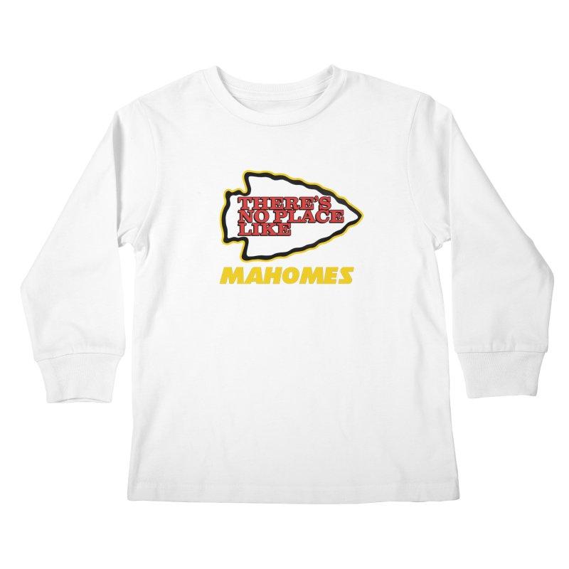 No Place Like Mahomes Kids Longsleeve T-Shirt by Mike Hampton's T-Shirt Shop