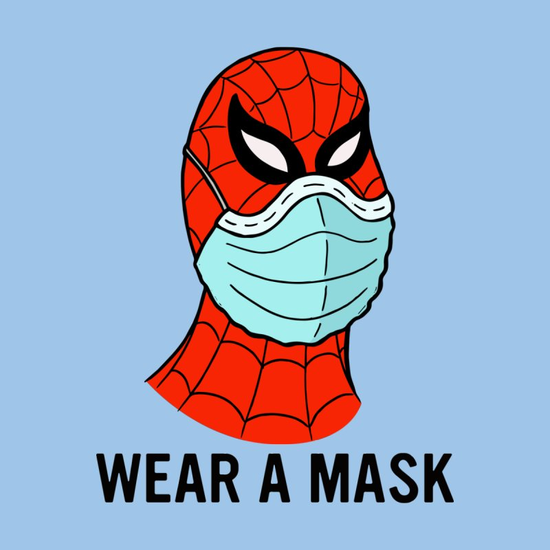 Wear a Mask Men's T-Shirt by Mike Hampton's T-Shirt Shop