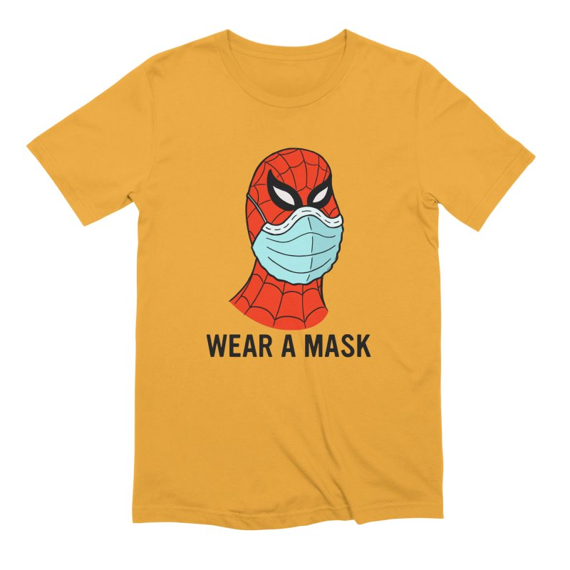 Wear a Mask Men's Extra Soft T-Shirt by Mike Hampton's T-Shirt Shop