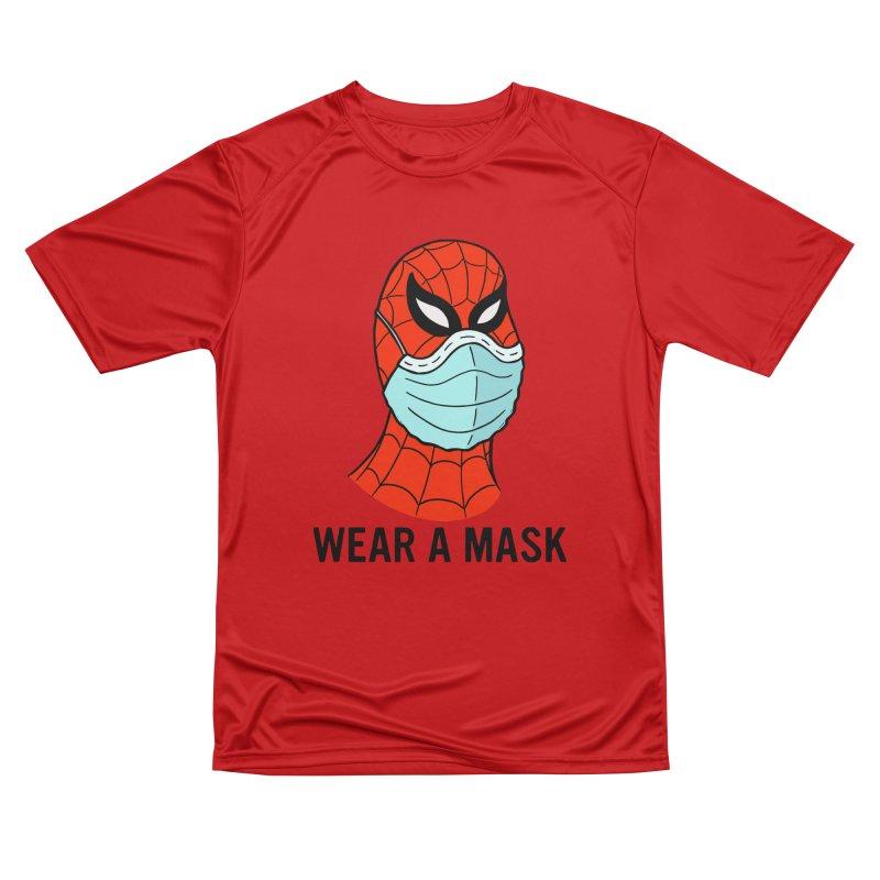 Wear a Mask Men's Performance T-Shirt by Mike Hampton's T-Shirt Shop