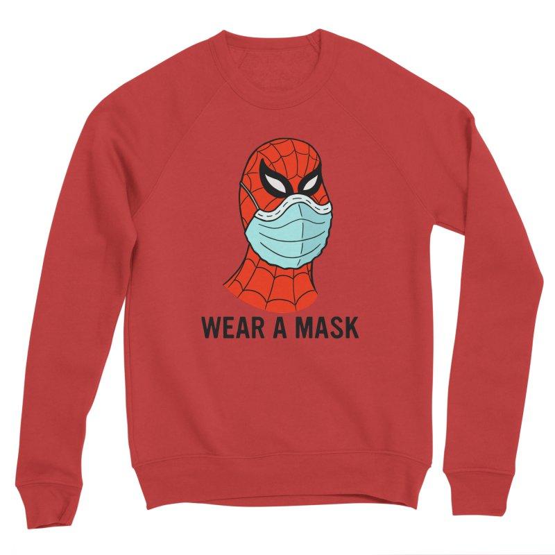 Wear a Mask Men's Sponge Fleece Sweatshirt by Mike Hampton's T-Shirt Shop