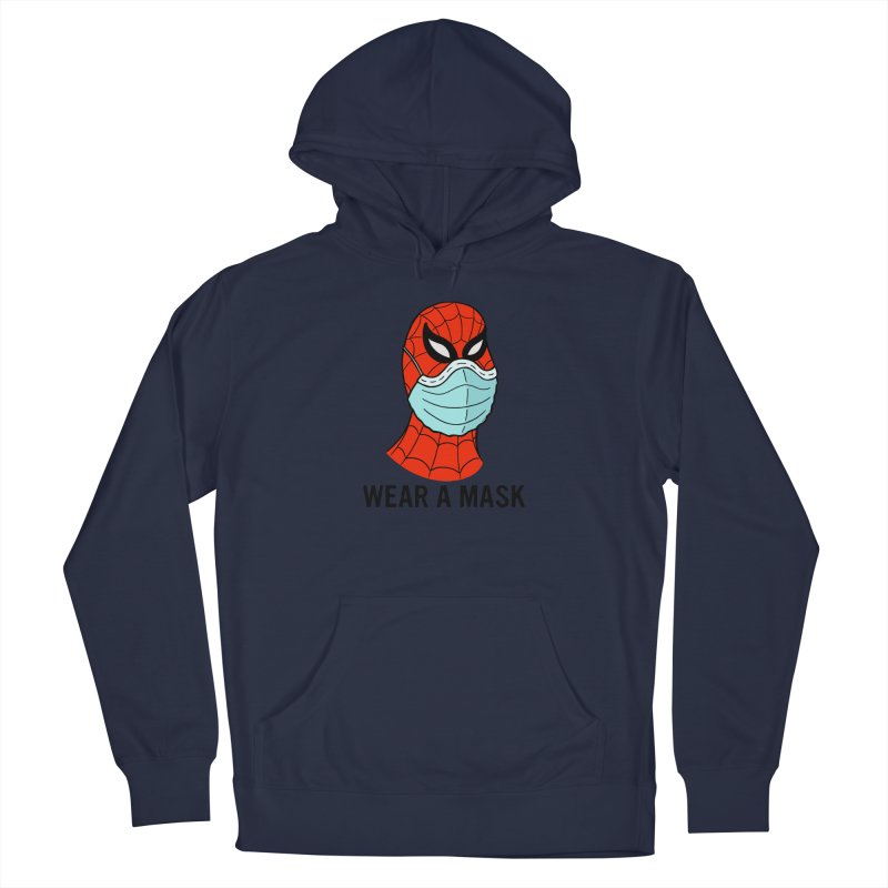 Wear a Mask Men's Pullover Hoody by Mike Hampton's T-Shirt Shop