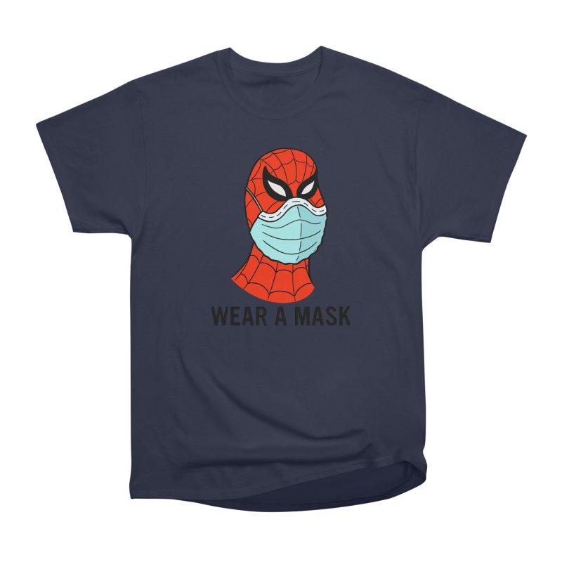 Wear a Mask Men's Heavyweight T-Shirt by Mike Hampton's T-Shirt Shop