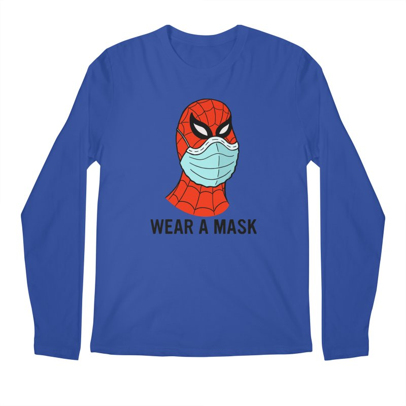 Wear a Mask Men's Regular Longsleeve T-Shirt by Mike Hampton's T-Shirt Shop