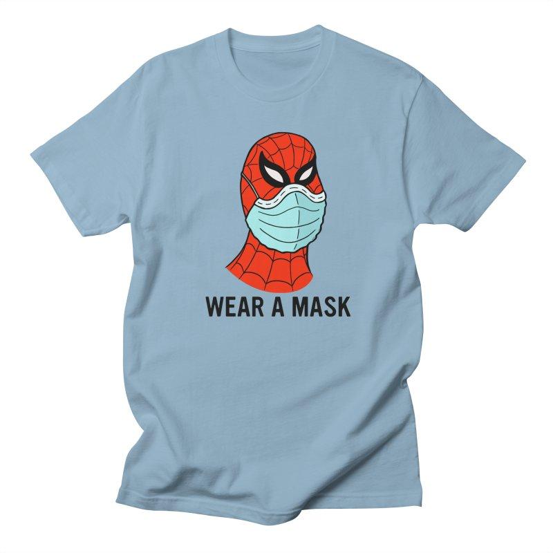Wear a Mask Men's Regular T-Shirt by Mike Hampton's T-Shirt Shop