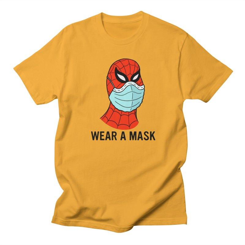 Wear a Mask Women's Regular Unisex T-Shirt by Mike Hampton's T-Shirt Shop