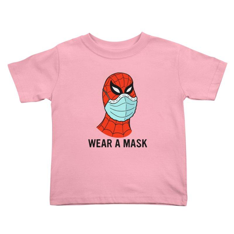 Wear a Mask Kids Toddler T-Shirt by Mike Hampton's T-Shirt Shop