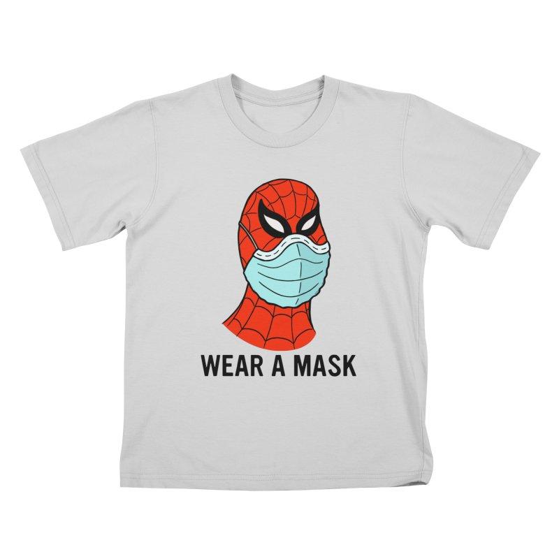 Wear a Mask Kids T-Shirt by Mike Hampton's T-Shirt Shop