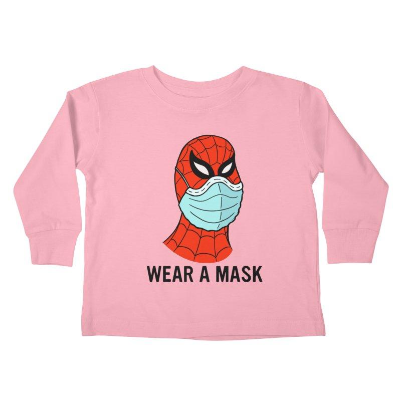 Wear a Mask Kids Toddler Longsleeve T-Shirt by Mike Hampton's T-Shirt Shop