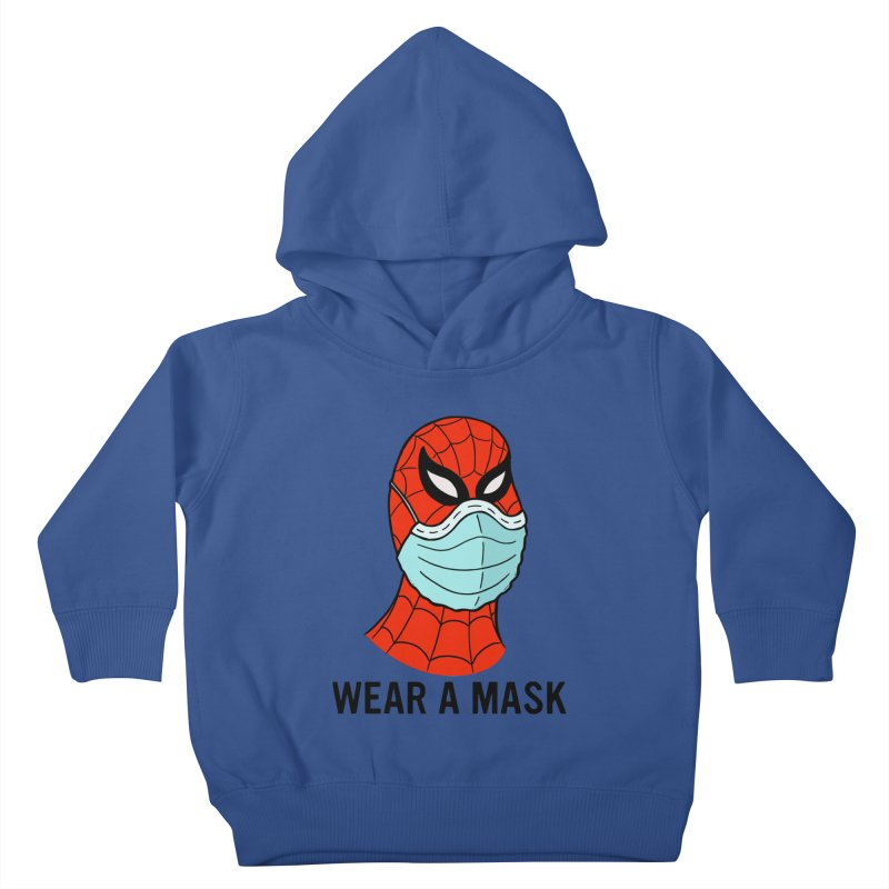 Wear a Mask Kids Toddler Pullover Hoody by Mike Hampton's T-Shirt Shop