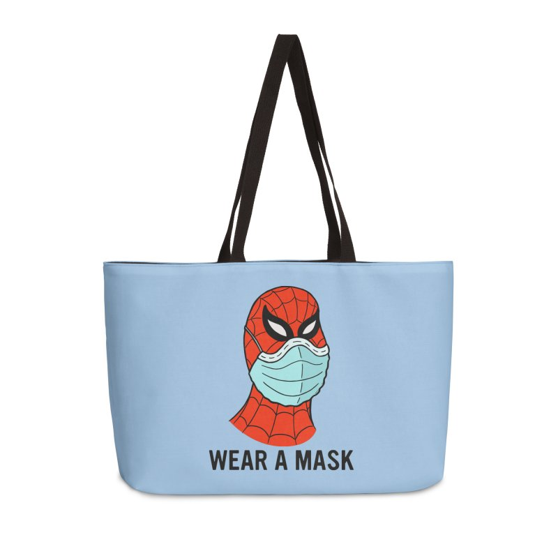 Wear a Mask Accessories Bag by Mike Hampton's T-Shirt Shop