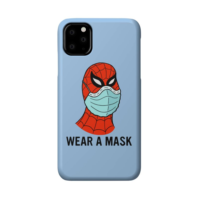 Wear a Mask Accessories Phone Case by Mike Hampton's T-Shirt Shop