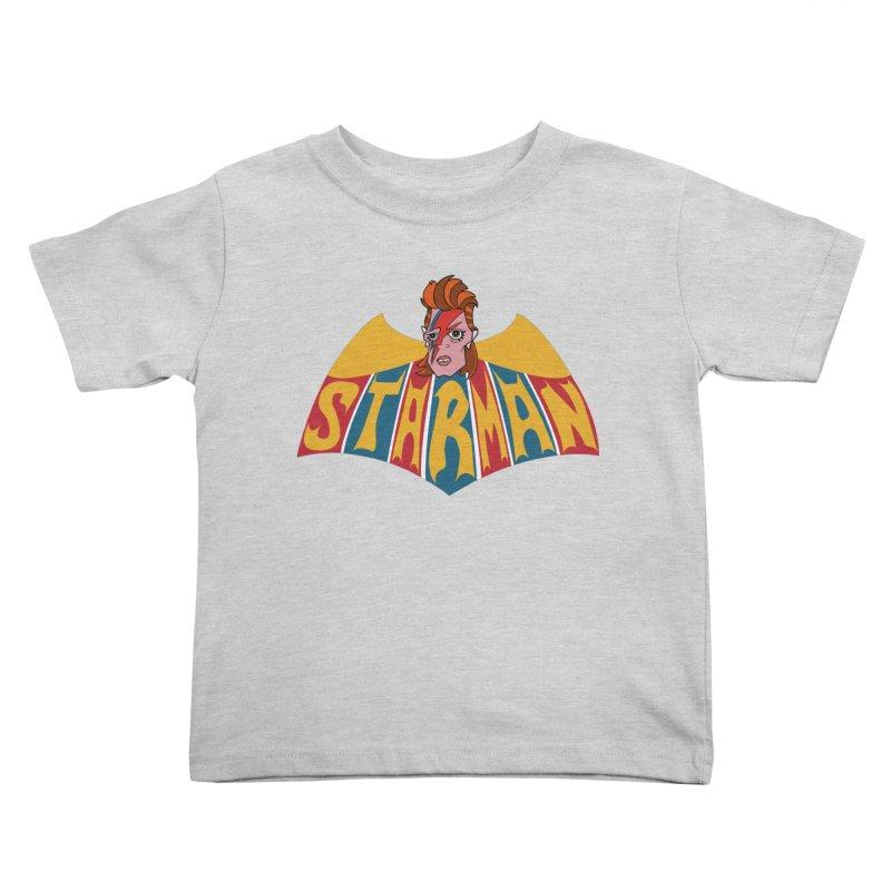 Starman Kids Toddler T-Shirt by Mike Hampton's T-Shirt Shop