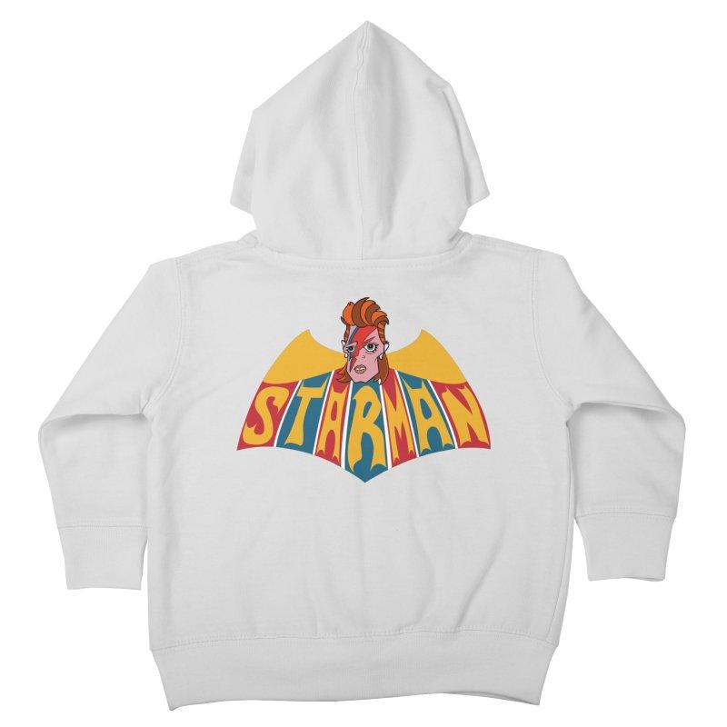 Starman Kids Toddler Zip-Up Hoody by Mike Hampton's T-Shirt Shop