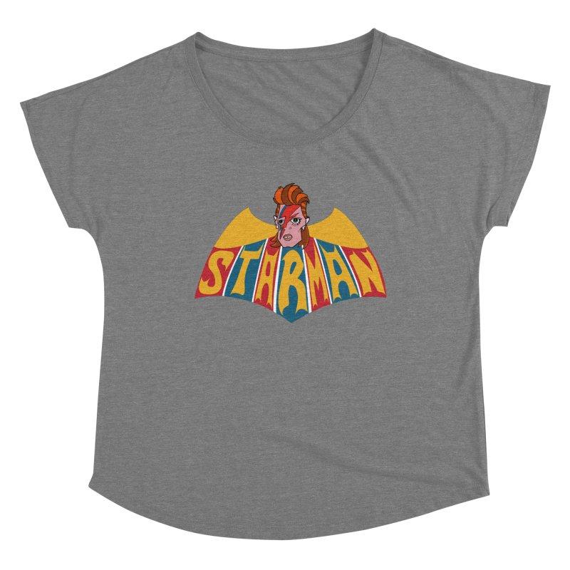 Starman Women's Dolman Scoop Neck by Mike Hampton's T-Shirt Shop