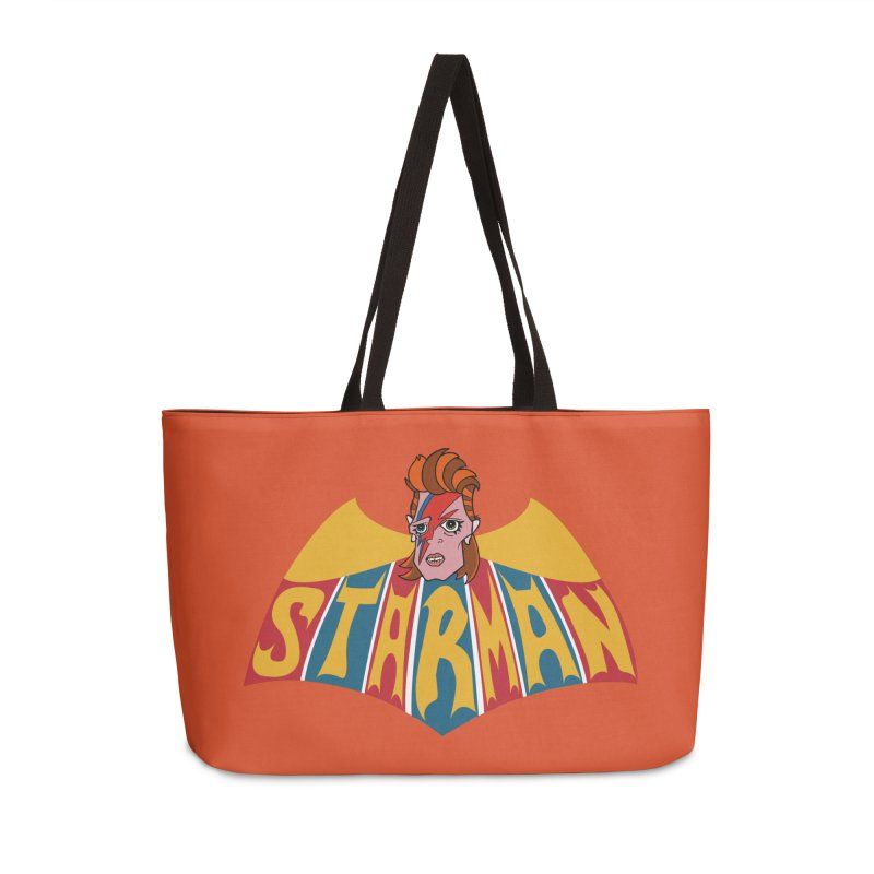 Starman Accessories Bag by Mike Hampton's T-Shirt Shop